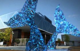 日照文创园主题灯光雕塑设计